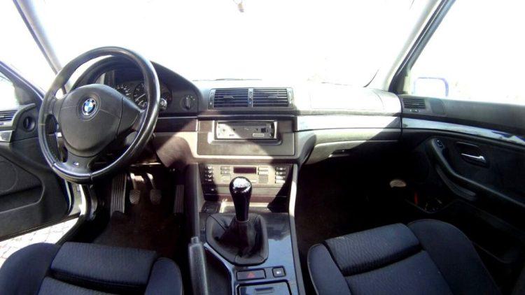 BMW 530 interior