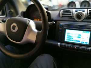 Interior Car2Go