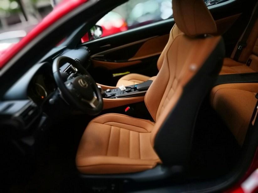 Interior Lexus RC300h