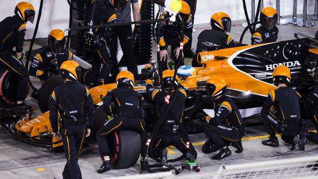 McLaren Honda Pit-Stop