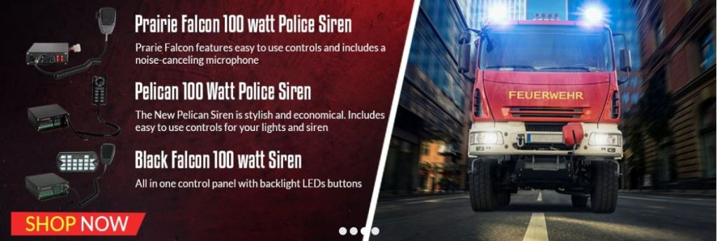 Police & Emergency Vehicle Sirens
