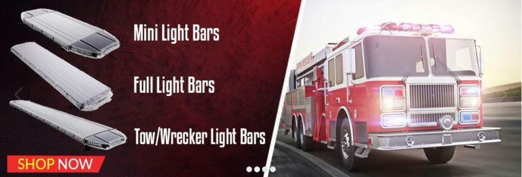 LED Light Bars for Trucks & Emergency Vehicles
