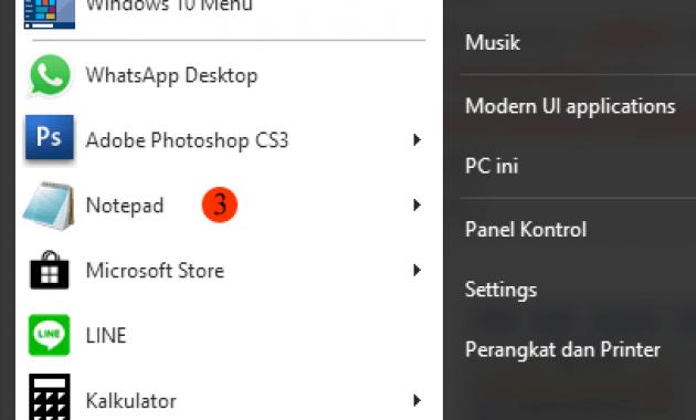 cara membuat web html keren dengan notepad