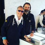 con Paolo Bonolis Internazionali di Tennis Roma