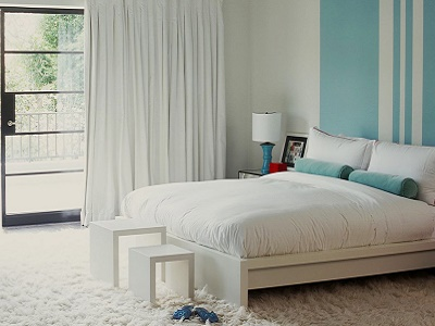 cara menghias kamar tidur dengan permadani