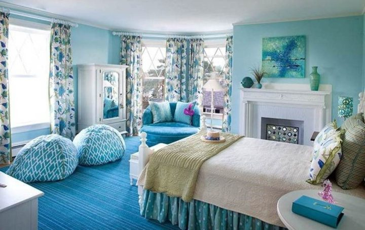 Desain Kamar Tidur Minimalis Warna Biru Penuh Kreasi dan Inspirasi #3