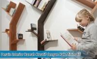 Desain Interior Rumah Kreatif dengan Rak Minimalis