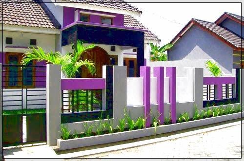 Warna Cat Pagar Rumah Yang Bagus Dan Serasi Untuk Rumah Minimalis Kumpulan Cara Praktis