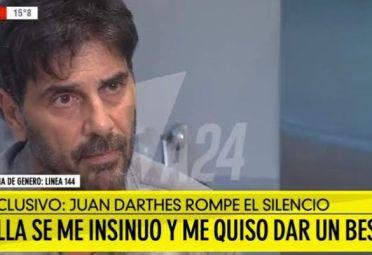 Juan Darthés acusó a Thelma Fardin de haberla provocado.