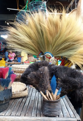 Locally-made brooms