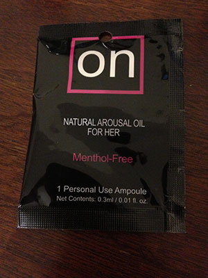 Sensuva ON Natural Arousal Oil For Her Review