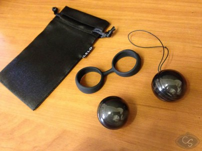 LELO Luna Beads Noir love eggs & kegel balls review