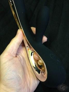 LELO Insignia Soraya dual stim rabbit vibrator