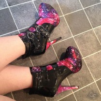 Starry Night Ankle Boots