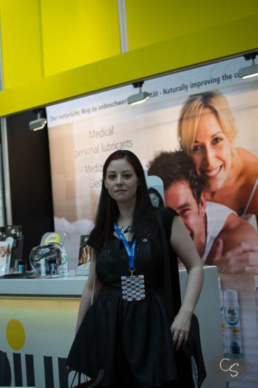 At Pjur ready to meet Elisabeth