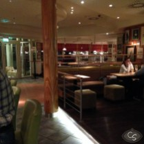 Marriott Courtyard bar