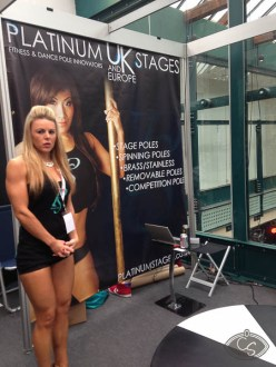Platinum stages and dance poles