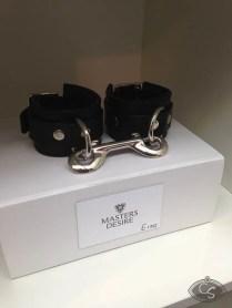 Luxury Master's Desire restraints