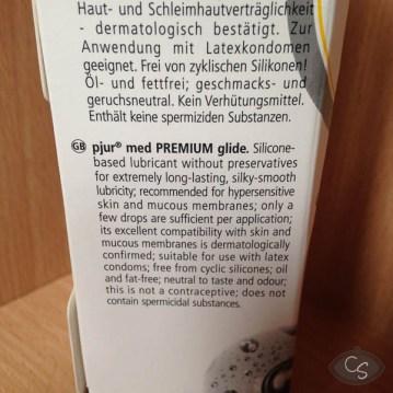 Pjur Med Premium Glide Silicone Lube review
