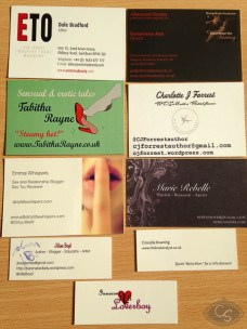 business cards eroticon 2014