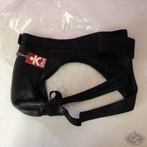 Titus leather jock strap pants XL review