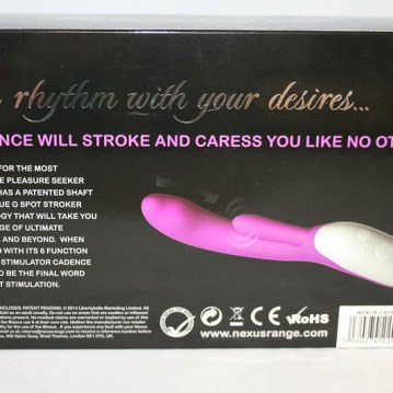 Nexus Cadence Rabbit Vibrator - Cara Sutra review 800-3