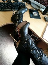 demonia muerto boots cara sutra wearing review 800-2