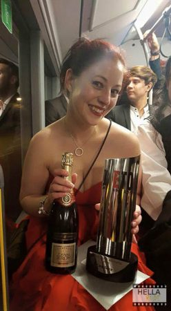 Cara has won the ETO for Best Erotic Journalist 3 years running