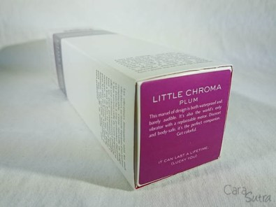 jimmyjane little chroma vibrator cara sutra review-7