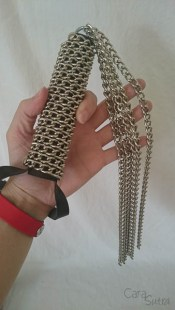 rimba 5 tail chain flogger whip cara sutra review-4