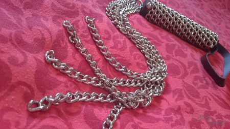 rimba 5 tail chain flogger whip cara sutra review-7