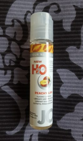 System JO H2O Peach Flavoured Lube Review