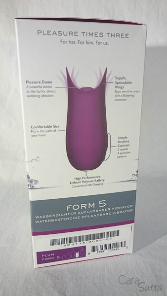 Jimmyjane FORM 5 vibrator - cara sutra review-6