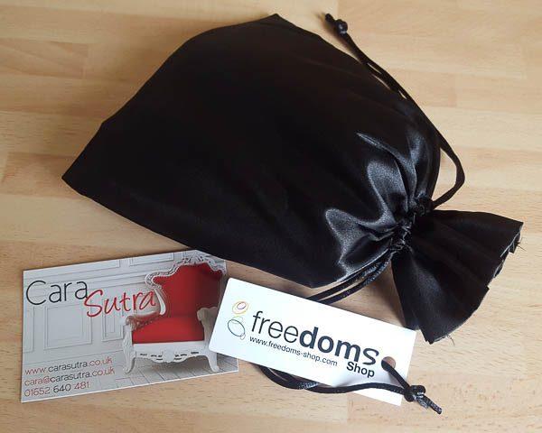 Freedoms Shop Black Tickler Passion Pouch Review Pleasure Panel Condom Reviews
