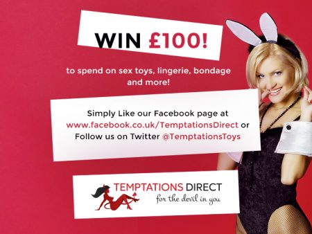 Win A £100 Voucher To Spend On Sexy Shopping At Temptations Direct