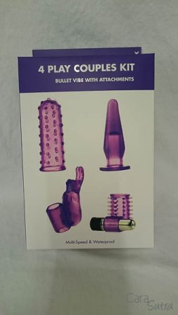 Kinx 4 Play Couples Kit (Bullet Vibe With Attachments) Review pleasure panel