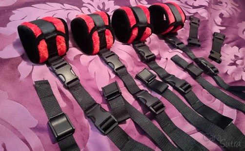 Liberator Seduction Bondage Set Cuffs and Straps Cara Sutra-2