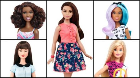 Barbie makeover diverse Barbie dolls 2016