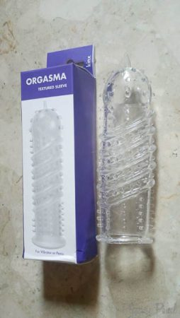 Kinx Orgasma Textured Penis Sleeve Review