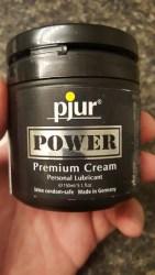 Pjur Power Cream Hybrid Lube Review