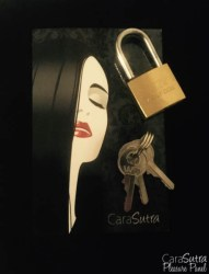 padlock and keys for chastity