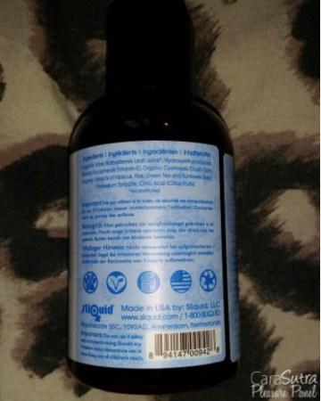 Sliquid Organics Natural Aloe Lube Review