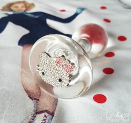 Crystal Delights Medallion Plug Unicorn Heart and Hello Kitty Butt Plug Review-5