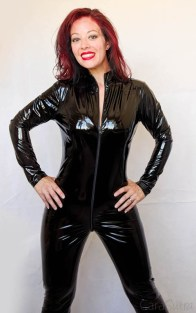 Vawn and Boon PVC Catsuit Review Cara Sutra-30