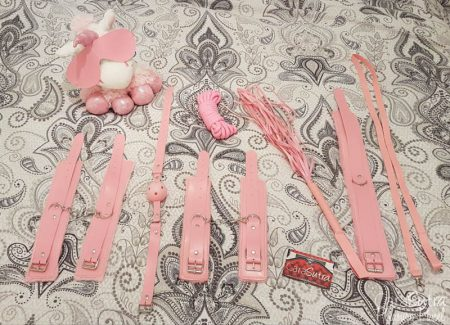 Buy Tail Plugs 7 Piece Pink Bondage Set Review