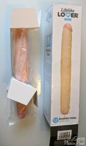 Lifelike Lover Ultra Realistic Double Ended Dildo 12 Inch Review-2
