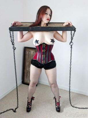 Lodbrock Handmade Wooden BDSM Pillory Set Review-106