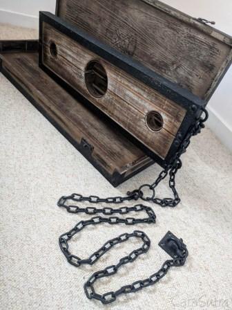 Lodbrock Handmade Wooden BDSM Pillory Set Review-18
