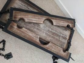 Lodbrock Handmade Wooden BDSM Pillory Set Review-27