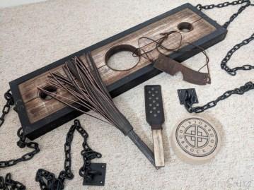 Lodbrock Handmade Wooden BDSM Pillory Set Review-33